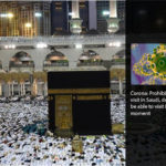 Saudi Arabia has banned entry of pilgrims coming to Mecca and Medina.