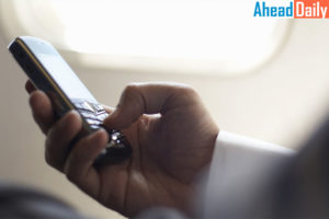 The government allowed the use of Internet services via Wi-Fi during the flight in the aircraft